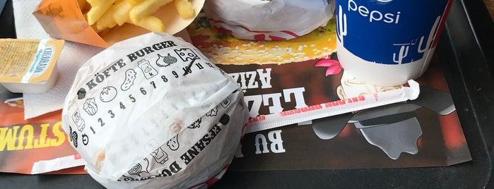 Saloon Burger is one of Posti che sono piaciuti a Çiğdem.