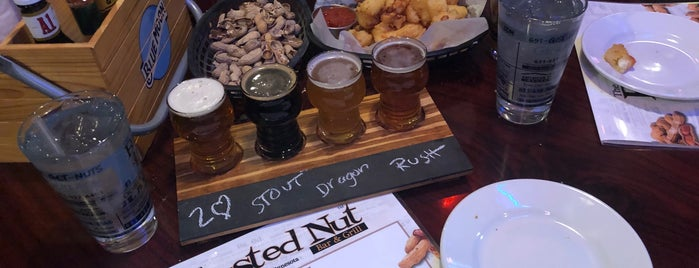 The Busted Nut Bar & Grill is one of Posti salvati di Jeremy.