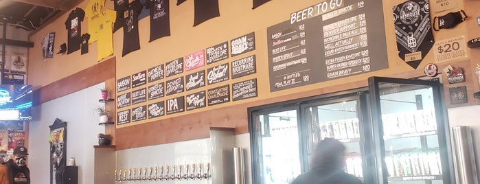 HenHouse Brewing Palace of Barrels is one of CA Northern Breweries.