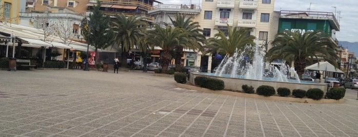 Πλατεία Μάρκου Μπότσαρη is one of Locais curtidos por Spiridoula.