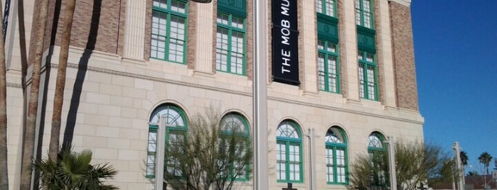 The Mob Museum is one of Las Vegas.