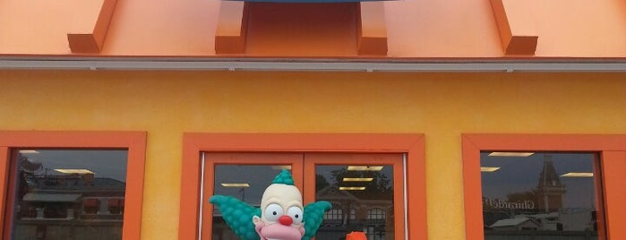 Krusty Burger is one of Locais curtidos por Cristina.
