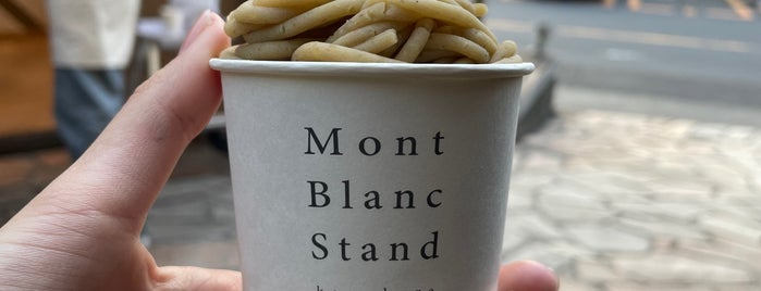 MontBlanc Stand is one of Tempat yang Disimpan T.