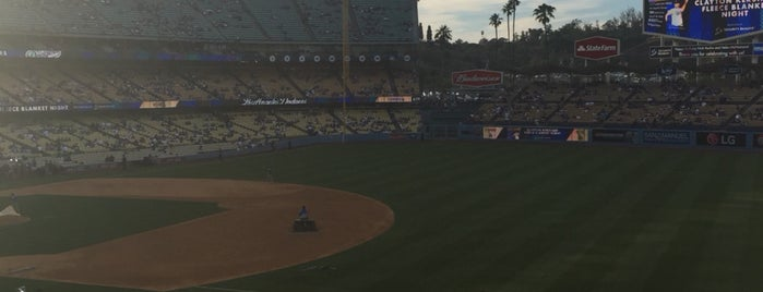 Dodger Stadium is one of Orte, die Linda gefallen.