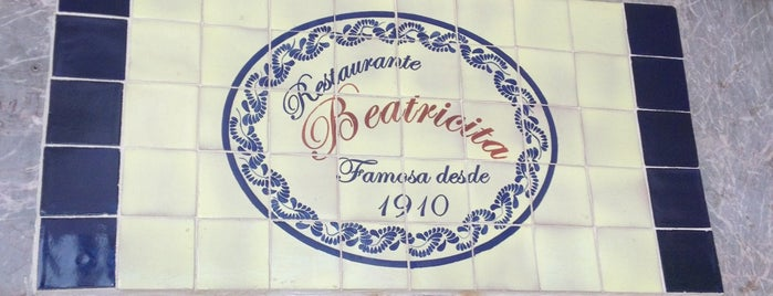 Beatricita is one of Restaurantes.