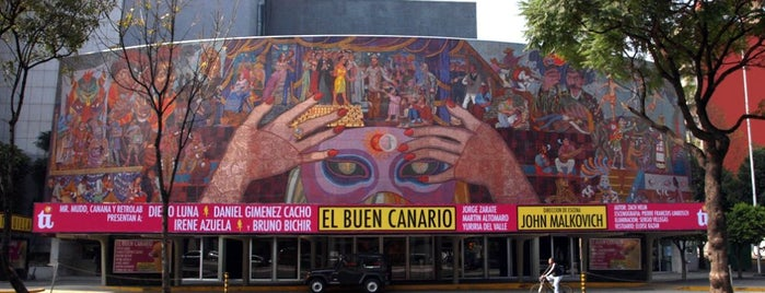 Teatro de los Insurgentes is one of Mis favoritos.
