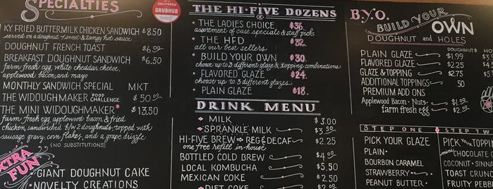 Hi-Five Doughnuts is one of Sean : понравившиеся места.