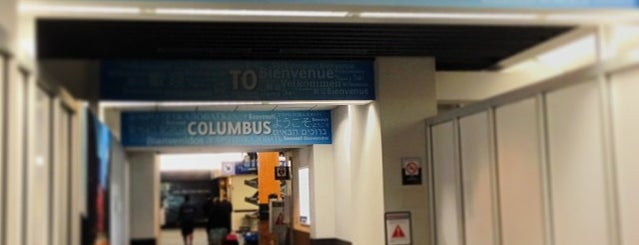 John Glenn Columbus International Airport (CMH) is one of Columbus!.