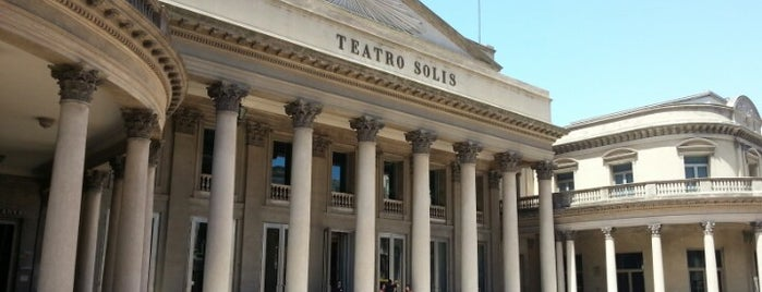 Teatro Solís is one of Montevideu.