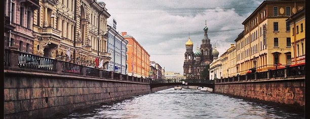 Griboyedov Canal is one of Россия 🇷🇺 (Санкт-Петербург).