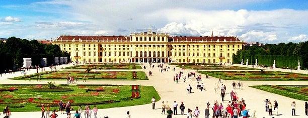 Schloss Schönbrunn is one of Vienna - Wien - Viedeň.
