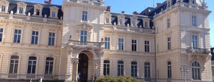 Палац Потоцьких is one of Львов.