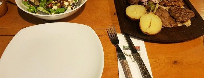 Sevket SteakHouse is one of Lieux qui ont plu à ESRA👑.