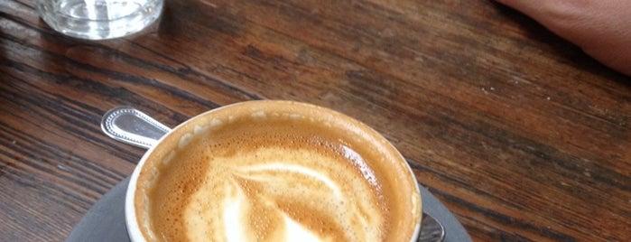 Four Barrel Coffee is one of San Fran.