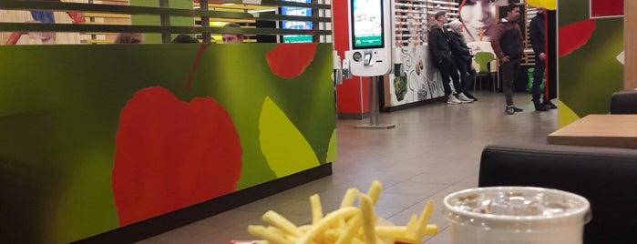 McDonald's is one of Lieux qui ont plu à Galina.