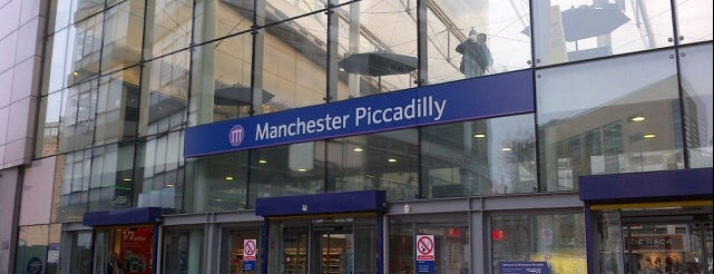 Bahnhof Manchester Piccadilly is one of UK.