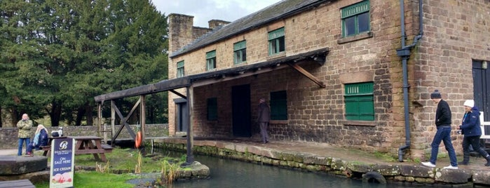 Cromford Mill is one of Tristan's Saved Places.