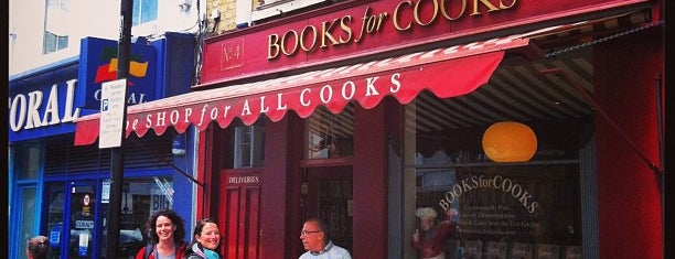 Books For Cooks is one of londoner.