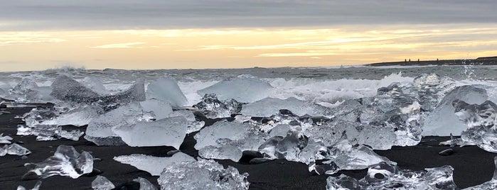 Diamond Beach is one of Iceland.