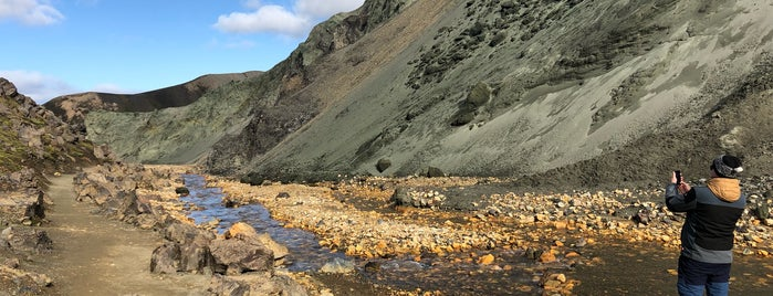 Landmannalaugar is one of Iceland.