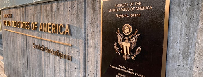 Embassy of the United States of America is one of Reykjavik.