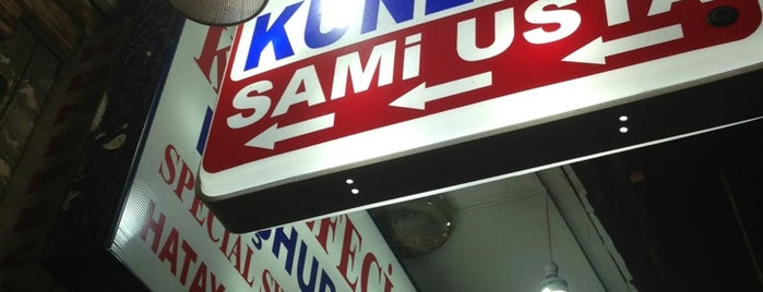 Meşur Hatay Künefecisi Sami Usta is one of Mekanlar.