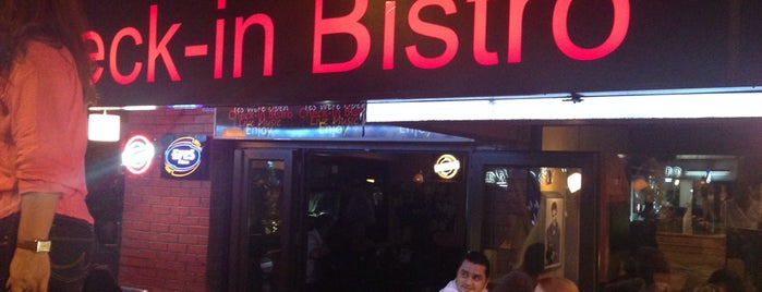 Check-in Bistro is one of Eğlence - Antalya.