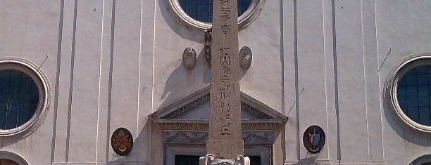 Elefantino e Obelisco della Minerva is one of ROME - ITALY.
