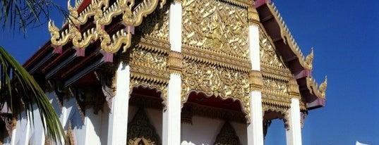 Wat Buraparam is one of Surin + Buri Rum.