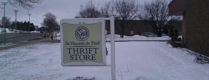 St. Vincent de Paul is one of Orte, die Cindy gefallen.