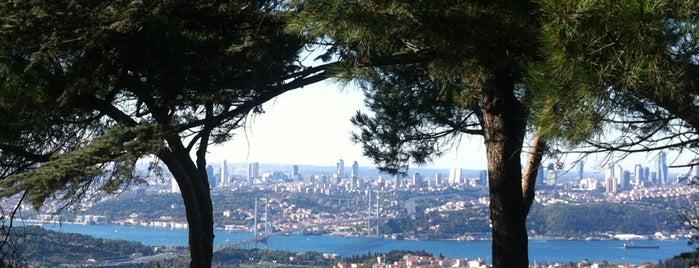 Büyük Çamlıca Tepesi is one of Turkey.
