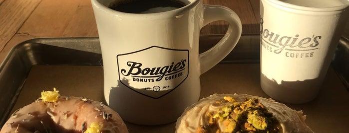 Bougie's Donuts & Coffee is one of Austin Bucketlist.