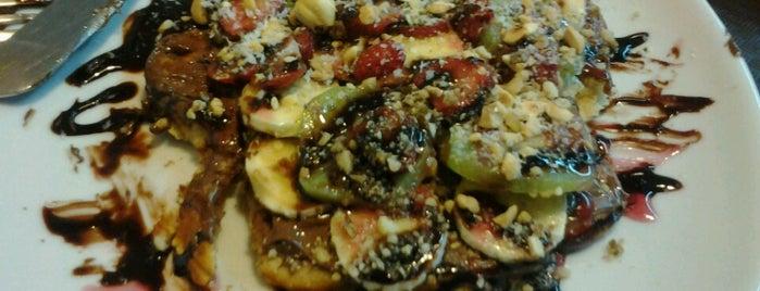 Mr. Kumpir & Waffle is one of สถานที่ที่ Ali Emre ถูกใจ.