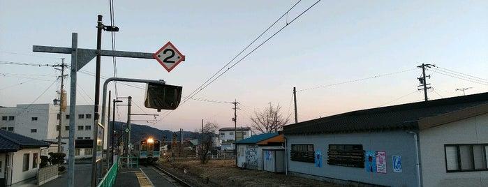 北大町駅 is one of JR 고신에쓰지방역 (JR 甲信越地方の駅).