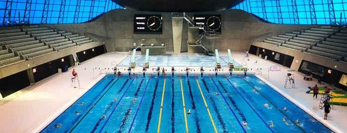 Better London Aquatics Centre is one of 50 Best Swimming Pools in the World.
