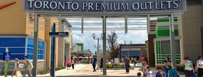 Toronto Premium Outlets is one of Toronto, ON.