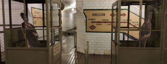 Metro Estación de Chamberí is one of 100 cosas que hacer en Madrid.