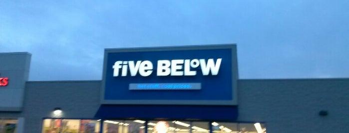 Five Below is one of Lugares favoritos de Christopher.