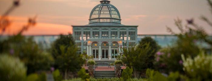 Lewis Ginter Botanical Garden is one of Camp Corgiwanna.