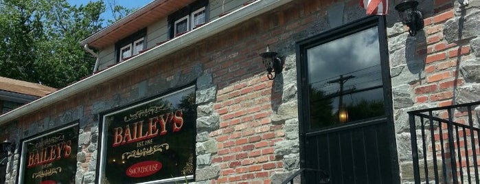 Bailey's Smokehouse is one of Outside NYC.