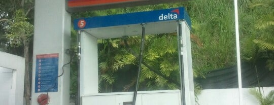 Delta is one of Tempat yang Disukai Ricky.