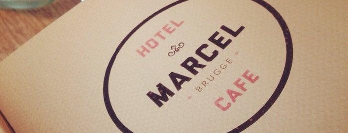 Hotel en Cafe Marcel is one of Locais curtidos por Sophie.
