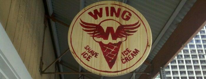 Wing Shave Ice & Ice Cream is one of Aloha Hawaii.