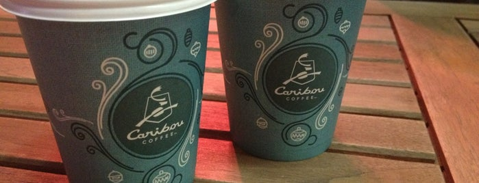 Caribou Coffee is one of * GİDİYORUZ :)).