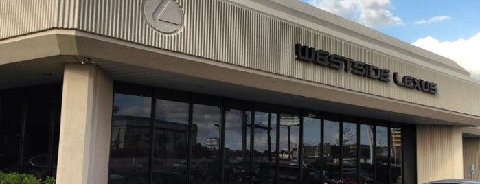 Westside Lexus is one of Texas's Liked Places.