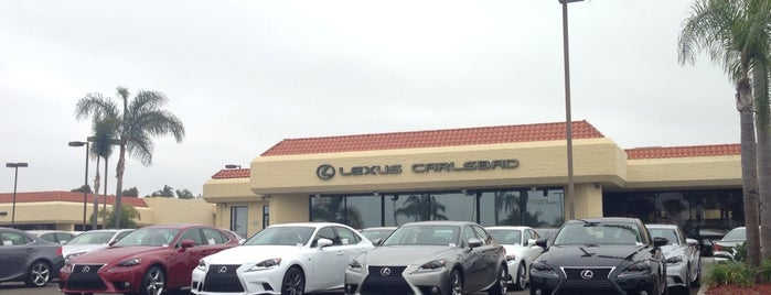 Lexus Of Carlsbad is one of สถานที่ที่ James ถูกใจ.
