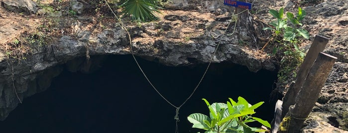 Cenote Calavera is one of Caribe Mexicano.