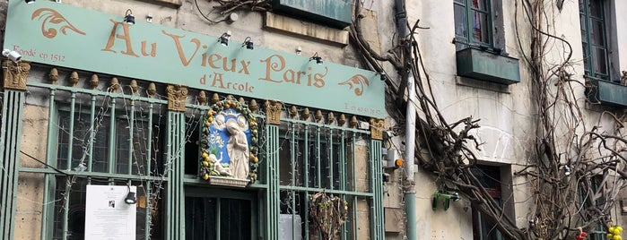 Aux Vieux Paris is one of Adults Only.  Paris dining, drinks and wine bar.