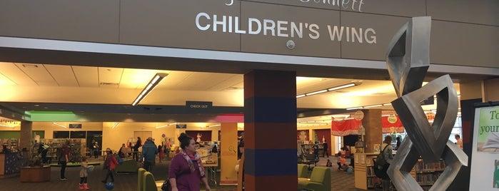 Children's Library is one of สถานที่ที่บันทึกไว้ของ Doreen.