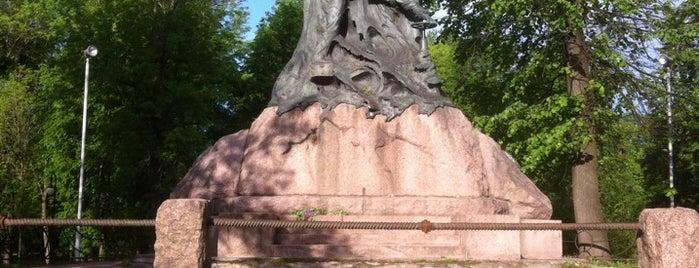 Памятник миноносцу «Стерегущий» is one of Locais curtidos por иона.